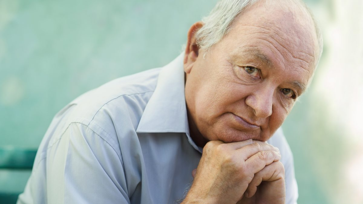 older adults with depression